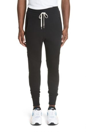 Men's John Elliott Escobar Sweatpants, Size Small - Black