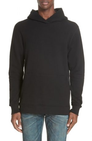 Men's John Elliott Hooded Villain Sweatshirt, Size Small - Black