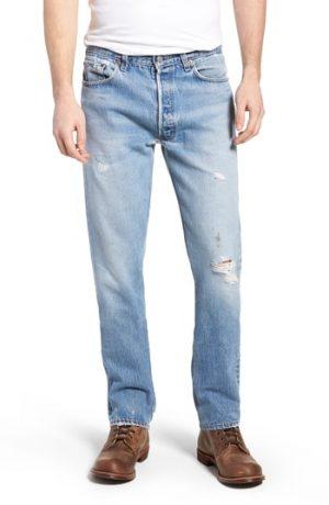 Men's Levi's Authorized Vintage 501(TM) Tapered Slim Fit Jeans, Size 26 - Blue