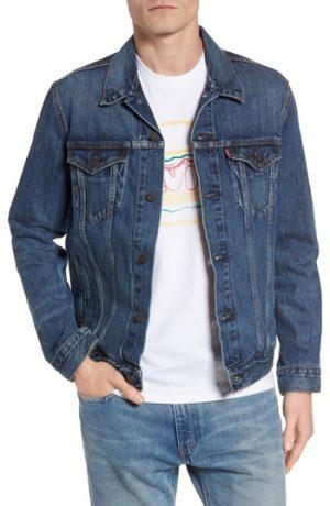 Men's Levi's Trucker Denim Jacket, Size X-Small - Blue