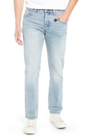 Men's Levi's X Justin Timberlake 501 Slim Taper Jeans, Size 28 x 32 - Blue