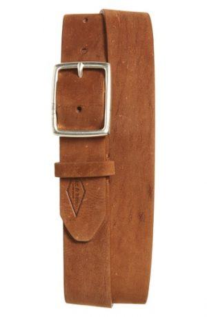 Men's Rag & Bone Leather Belt, Size 34 - Brown