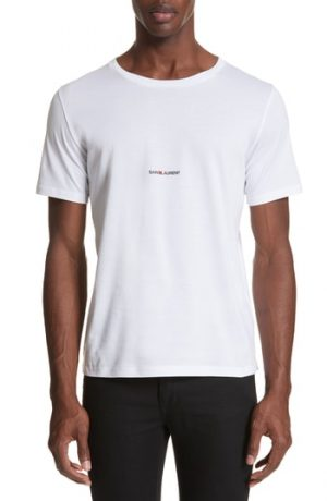 Men's Saint Laurent Gauche Logo T-Shirt