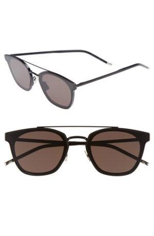 Men's Saint Laurent Sl 28 61Mm Polarized Sunglasses -
