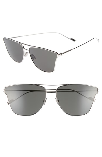 Men's Saint Laurent Sl 51T 63Mm Sunglasses -