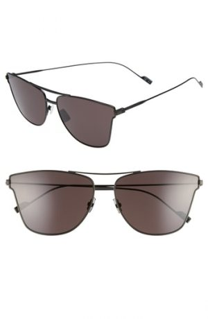 Men's Saint Laurent Sl 51T 63Mm Sunglasses - Black