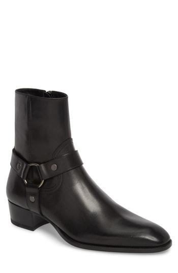 Men's Saint Laurent Wyatt Harness Boot
