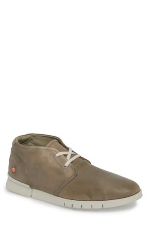 Men's Softinos By Fly London Coi Chukka Boot, Size 7US / 40EU - Grey
