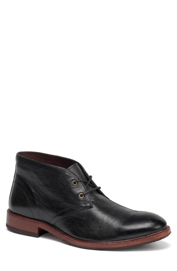 Men's Trask Landers Chukka Boot, Size 8 M - Black