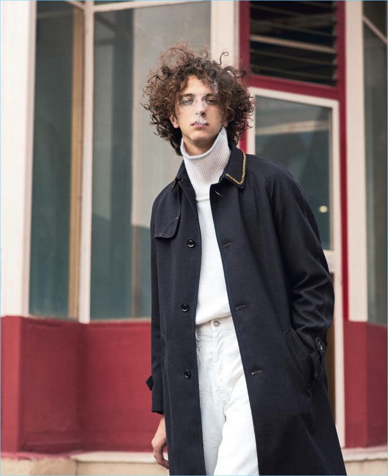 Niels Trispel is an Urban Cowboy for Esquire Italia