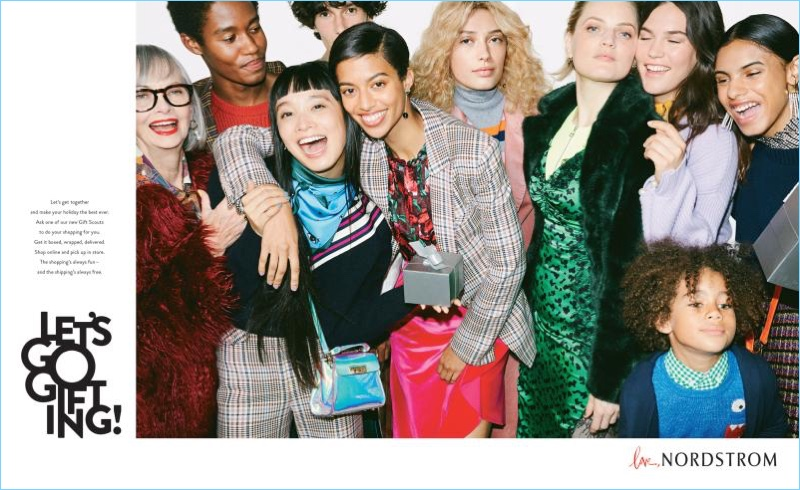 Ready for the holidays, Nordstrom unveils its new campaign.