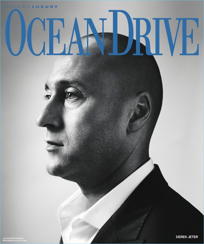 Derek Jeter covers the November 2018 issue of Ocean Drive.