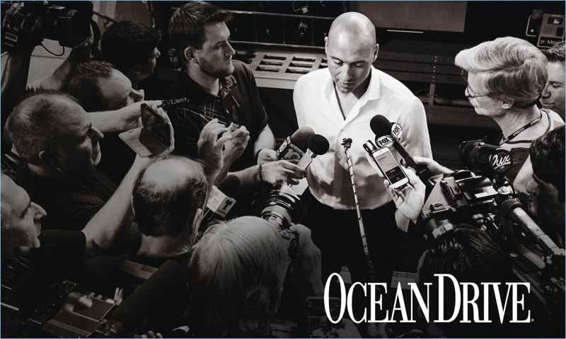 Tony Kim photographs Derek Jeter for the latest issue of Ocean Drive.