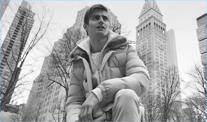 Peuterey taps Ben Allen to star in its fall-winter 2018 campaign.