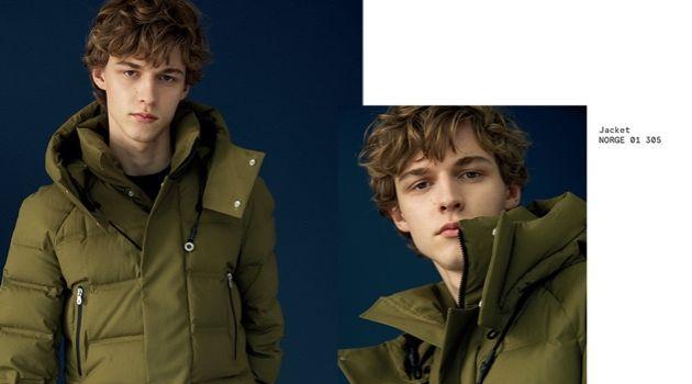 Max Barczak Bundles Up in Peuterey Fall '18 Outerwear