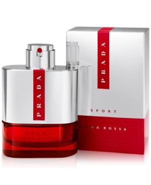 Prada Men's Luna Rossa Sport Eau de Toilette Spray, 3.4 oz