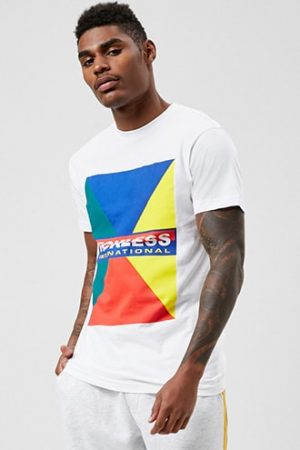 Reckless Graphic Tee by 21 MEN White