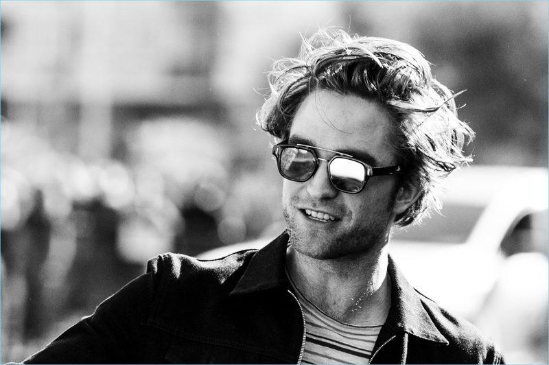 Promoting High Life during the 66th San Sebastian Film Festival, Robert Pattison rocks Dior Men's DiorFraction1 sunglasses.