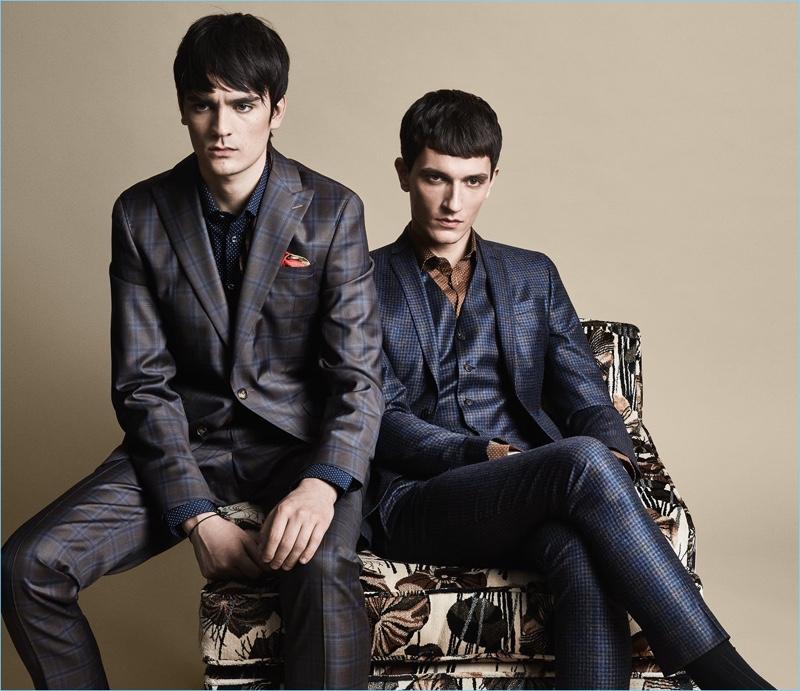 Alain-Fabien Delon & Jakob Wiechmann Suit Up for SAND Fall '18 Campaign