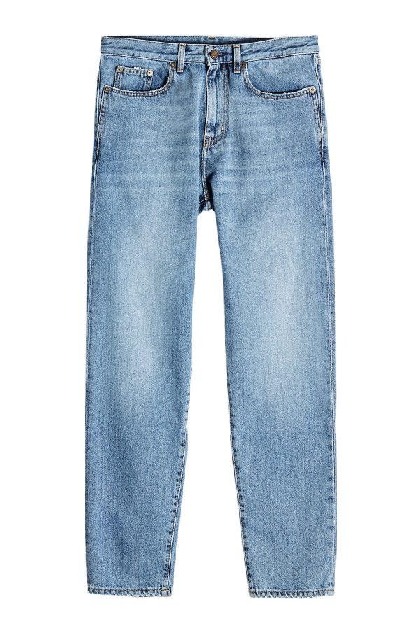 Saint Laurent Dirty Blue Slim Jeans
