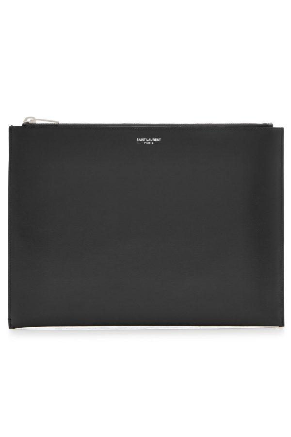 Saint Laurent Leather iPad Case