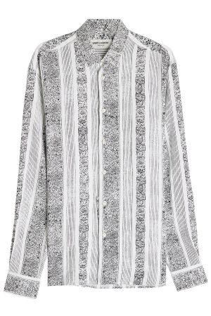 Saint Laurent Printed Shirt