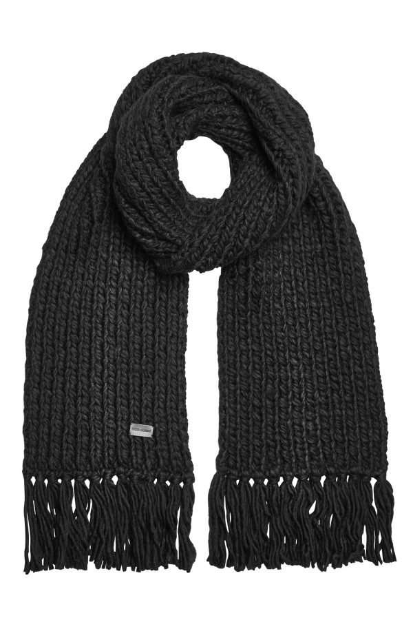 Saint Laurent Scarf with Wool and Alpaca