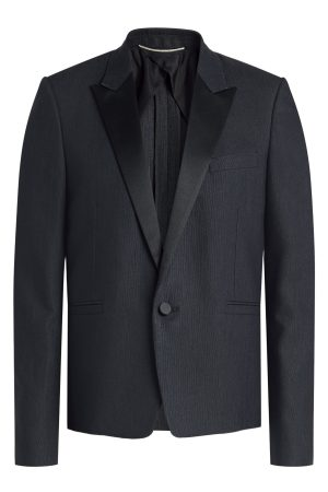 Saint Laurent Tailored Silk Blazer