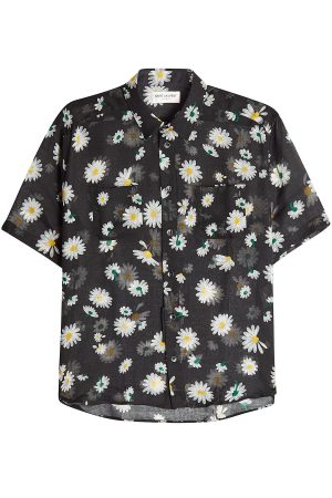 Saint Laurent Virgin Wool Shirt