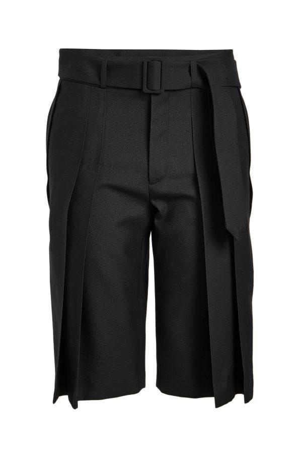 Saint Laurent Virgin Wool Shorts