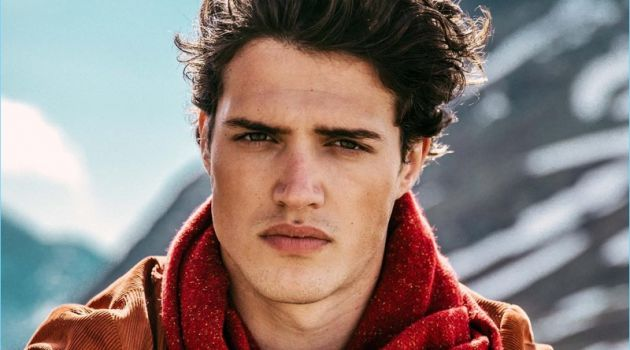 Benjamin Reynier stars in Scotch & Soda's fall-winter 2018 campaign.