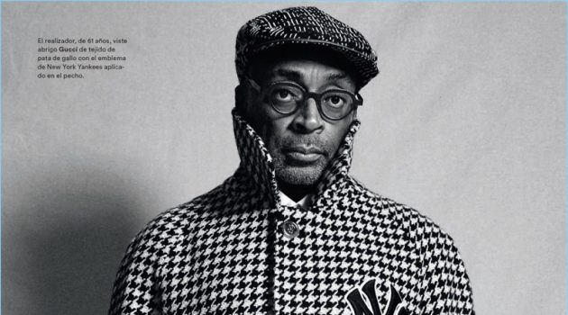 Front and center, Spike Lee dons Gucci.