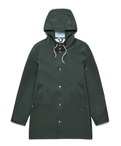 Stutterheim Stockholm Basic Raincoat Green