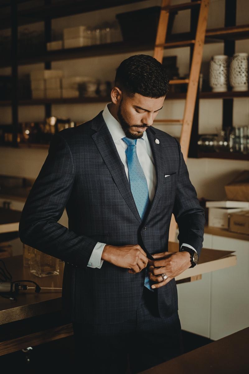 Man Suit Look
