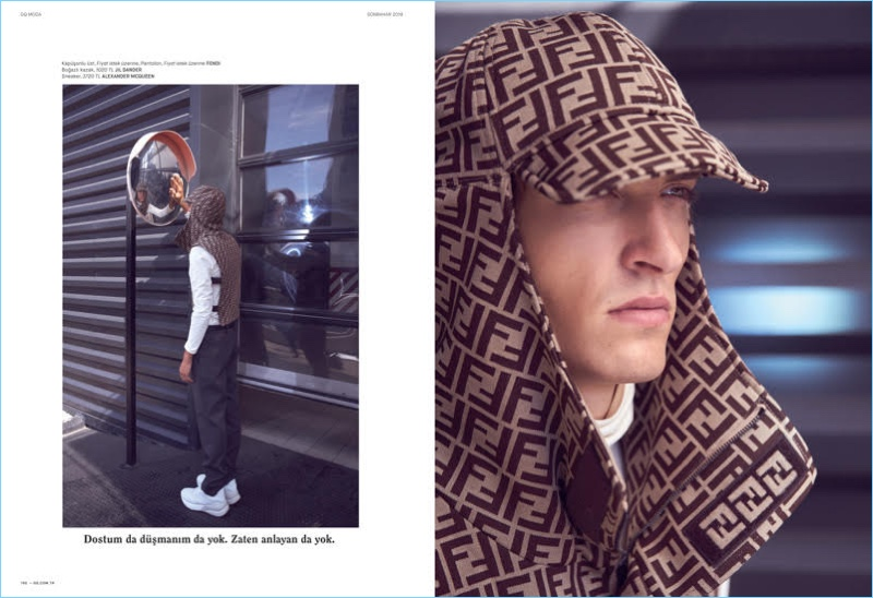 Tim Dibble Gets to Work in Istanbul with GQ Turkey