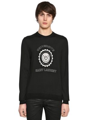Universite Jacquard Cashmere Sweater