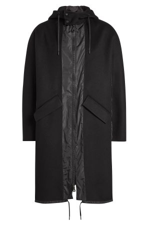 Valentino Wool Coat with Cashmere