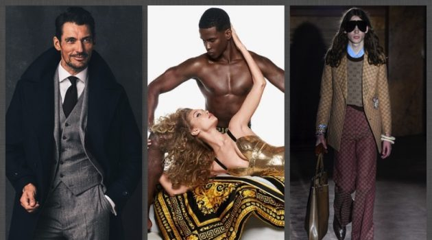 Week in Review: David Gandy, Versace Eros Flame, Gucci + More