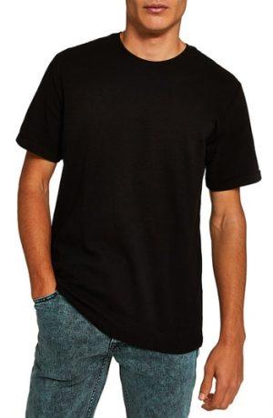 Women's Topman Ottoman Classic Fit T-Shirt, Size Large - Black