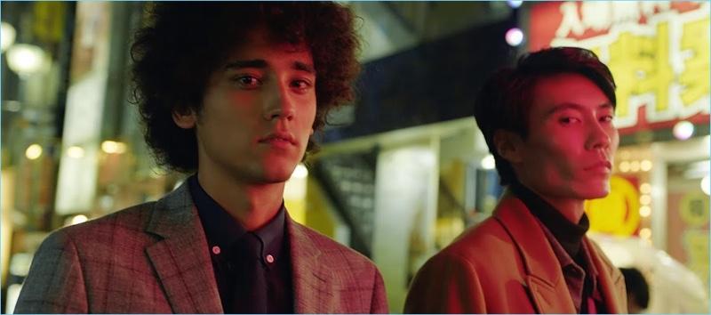 Terrace House alum Yuya Shibusawa appears in a fall 2018 fashion video for Banana Republic.