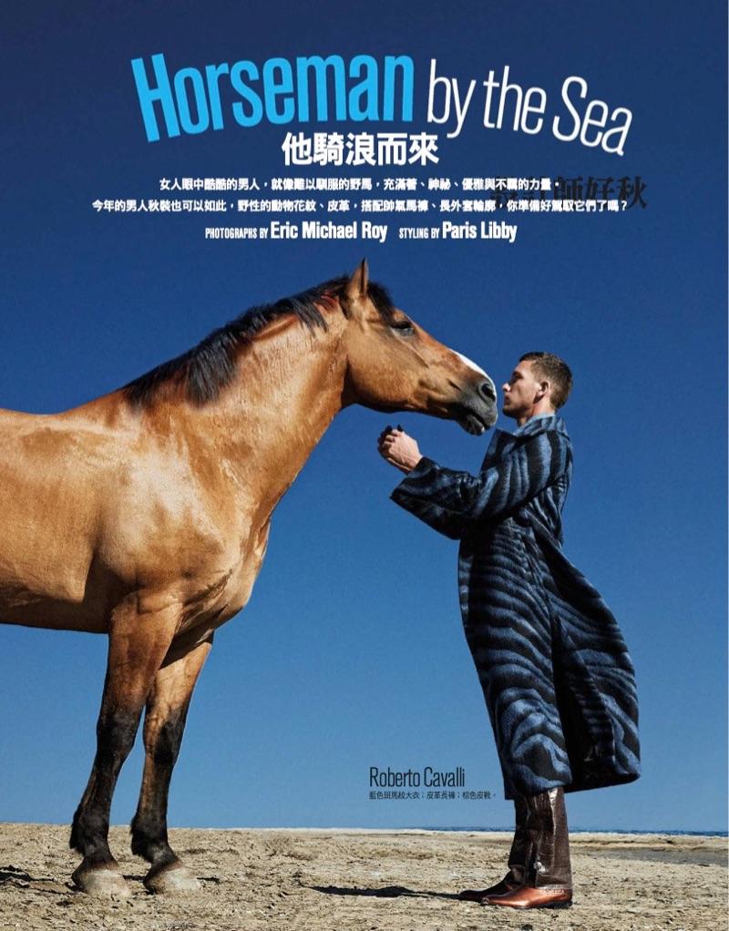 Horseman by the Sea: Adam Senn for GQ Taiwan