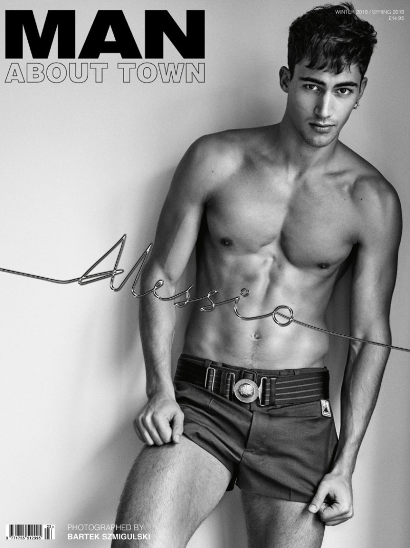 Alessio Pozzi Rocks Sporty Fashions for Man About Town