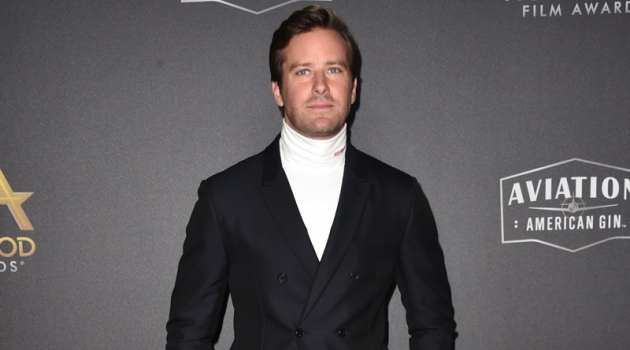November 2018: Armie Hammer attends the 22nd annual Hollywood Film Awards in Beverly Hills, California. Hammer dons a look from Calvin Klein 205W39NYC. | Photo Credit: Calvin Klein | © 2018 Alberto E. Rodriguez / Getty Images