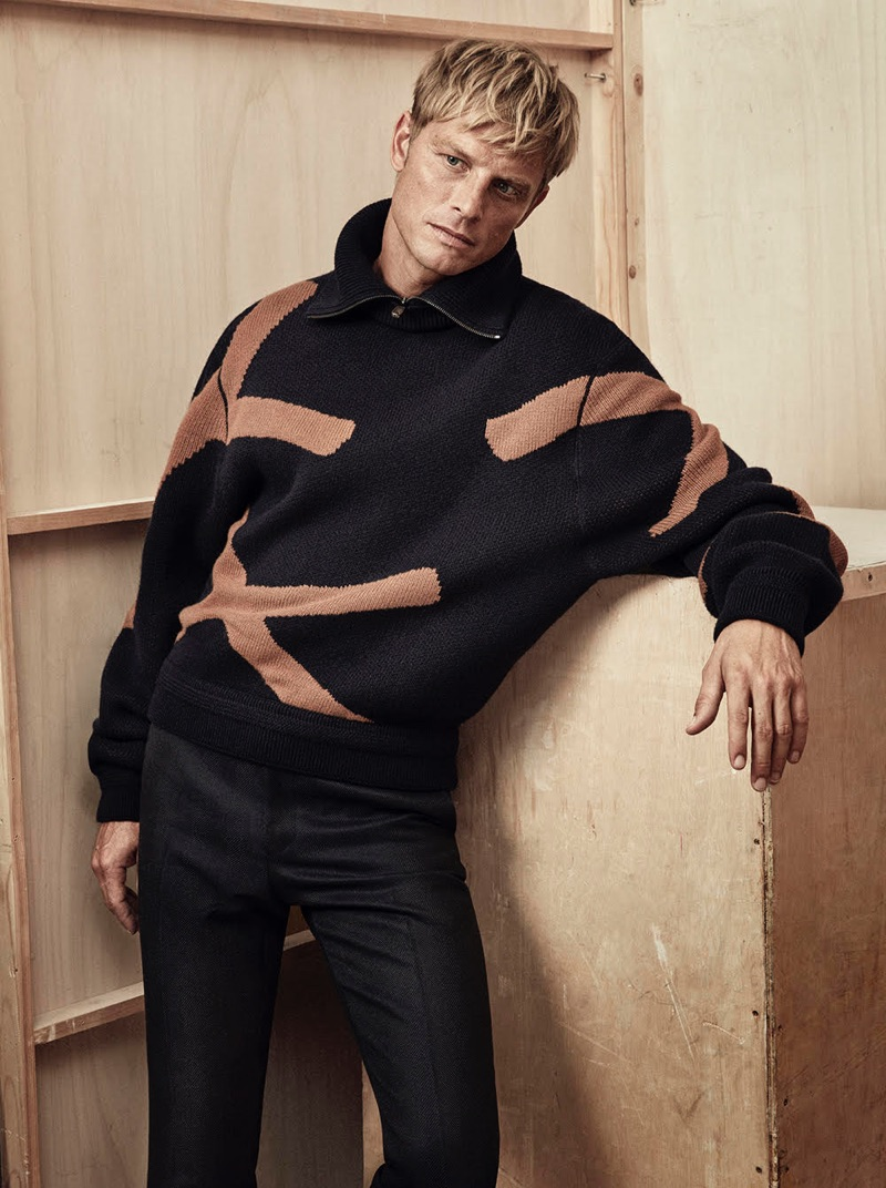 Arnaud Lemaire Dons Cold Weather Styles for Esquire España