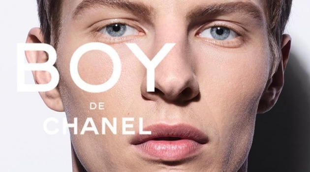 Tim Schuhmacher stars in the Boy De Chanel makeup campaign.