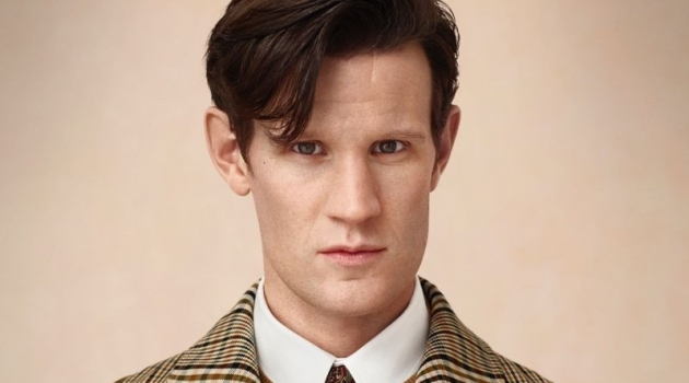 Matt Smith stars in Burberry's holiday 2018 campaign.