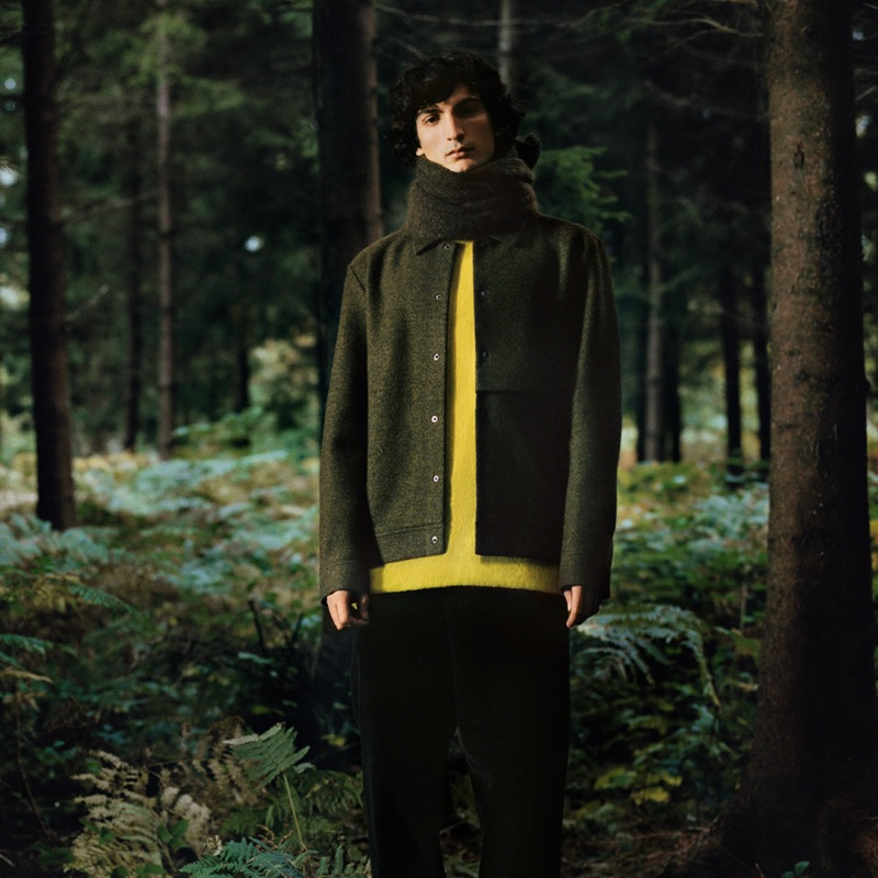 COS taps Luca Lemaire as the star of its winter 2018 campaign.
