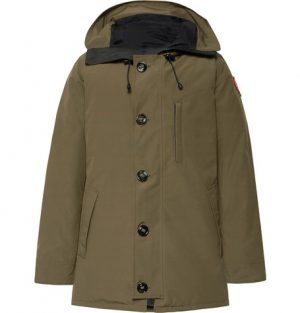 Canada Goose - Chateau Shell Hooded Down Parka - Army green