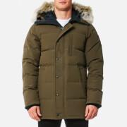 Canada Goose Men's Carson Parka Jacket - Military Green - M - Green