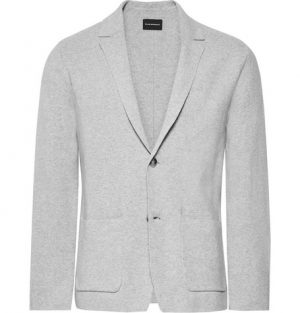 Club Monaco - Cotton Cardigan - Light gray